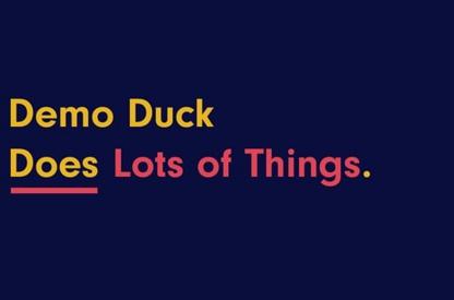 Demo Duck Reel
