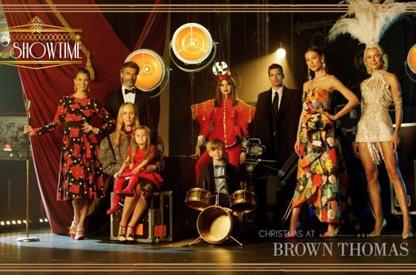 Brown Thomas - Xmas Ad.