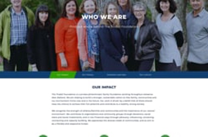 The Tindall Foundation website...