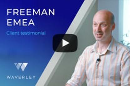 Client Testimonial by Freeman EMEA