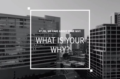 "What is your ""WHY?"" Promo Video"