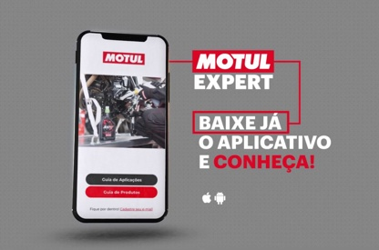 The Motul Expert app quickly...