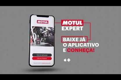 The Motul Expert app quickly...