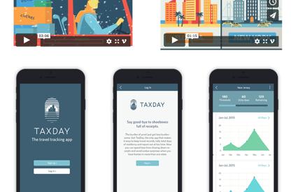 Brand Identity + App Design / Tax...