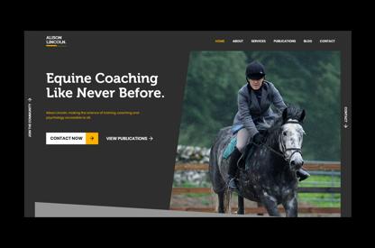 Alison Lincoln Website Design