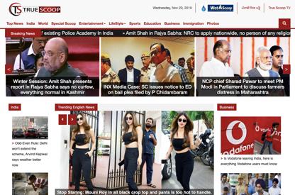 Digital Marketing for a News Site