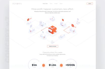 Marketing Web page - Design...