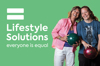 Lifestyle Solutions new brand ID...