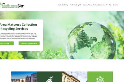 New Website & Logo for Mattress...