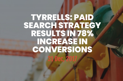 Paid Search Strategy results in...