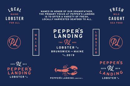 Brand Identity for Pepper's Landing
