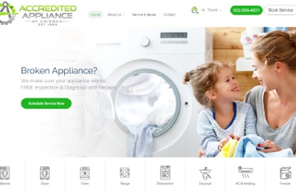 Website for Accredited Appliance