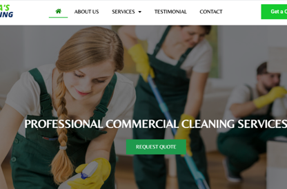 We Development For Cleaning Company