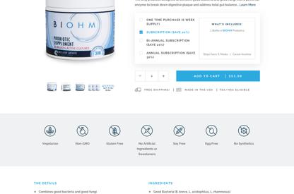 BIOHM Health: Custom Product...