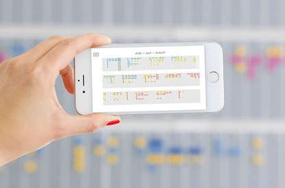 Digital-physical time planner