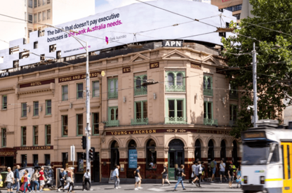 Bank Australia Clean Money Campaign