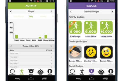 Activity Tracking App for a...