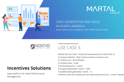Lead generation and Sales for...