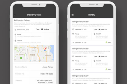 Delvito - User Delivery Service App
