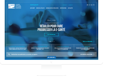 Redesign of the website of the...