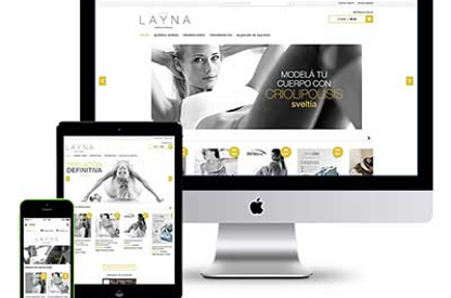 esthetic center web design