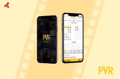 PVR   Mobile App UX UI