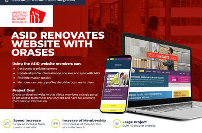 ASID Association Website + AMS...