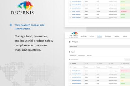 Decernis—regulatory expertise on...