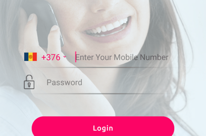 Mobile Calling Android App