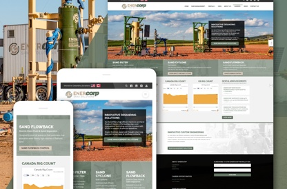EnerCorp Web and Marketing Package