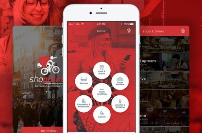 Shopronto UX/UI Design