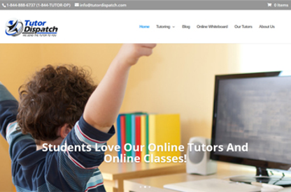 Online Tutoring Worldwide...