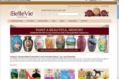eCommerce Site Design - Awarded...
