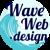 Wave Web Design Logo