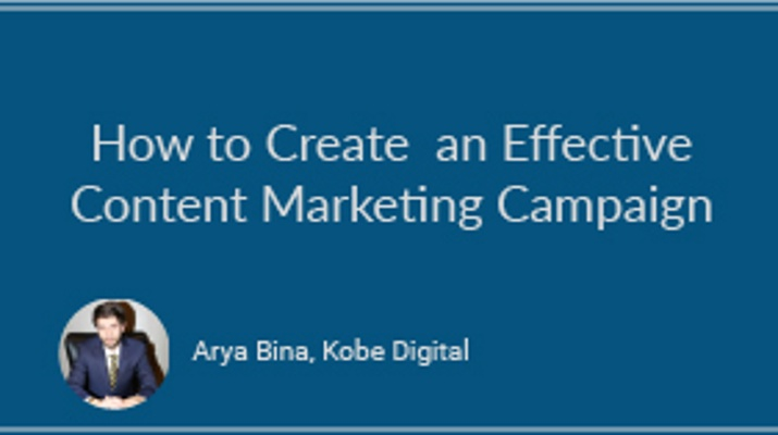 How to Create an Effective Content Marketing Campaign