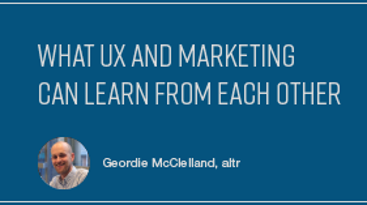 What UX and Marketing Can Learn from Each Other