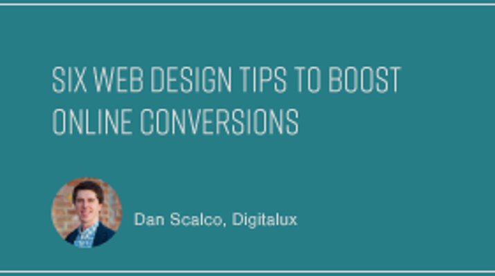 6 Web Design Tips to Boost Online Conversions
