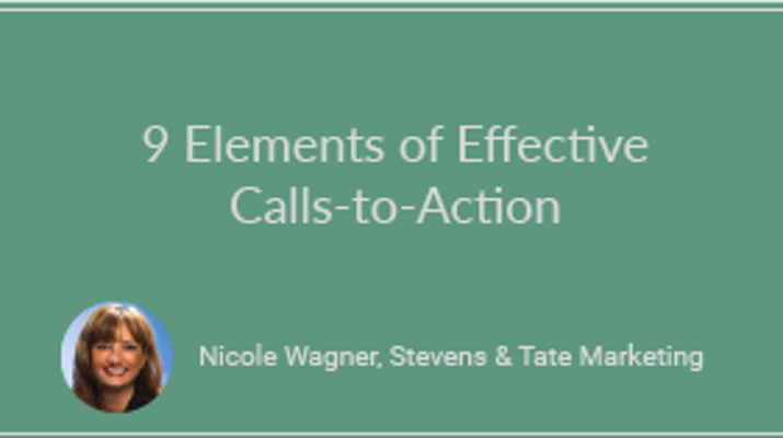 9 Elements of Effective Calls-to-Action
