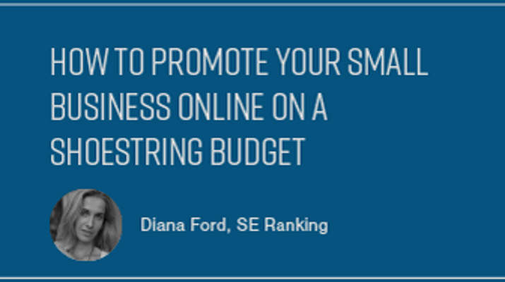 How to Promote Your Small Business Online on a Shoestring Budget
