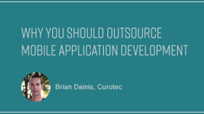 Why You Should Outsource Mobile Application Development