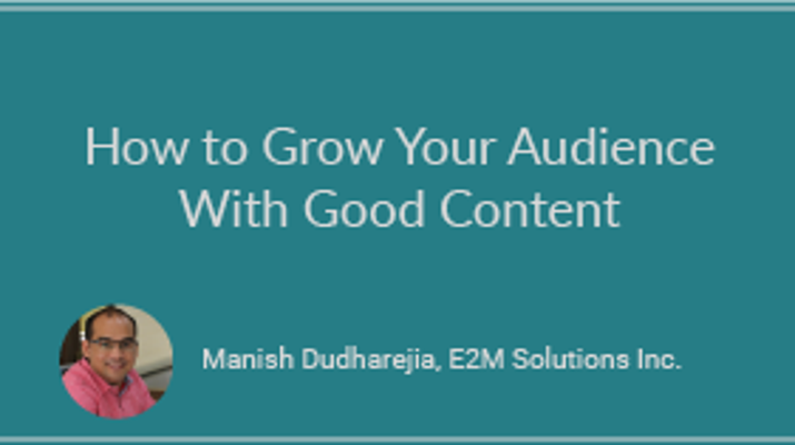 How to Grow Your Audience With Good Content