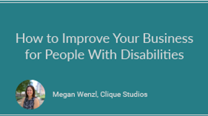 How to Improve Your Business for People With Disabilities
