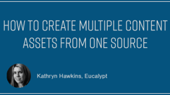How to Create Multiple Content Assets from One Source