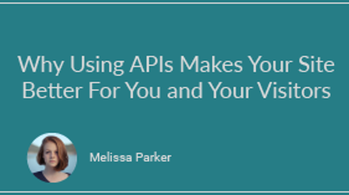 How APIs Can Dramatically Improve Your Website