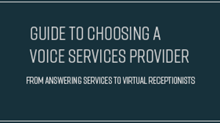 Guide to Choosing a Voice Services Provider