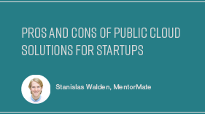 Pros and Cons of Public Cloud Solutions for Startups