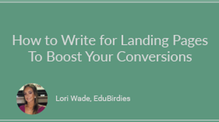 How To Write for Landing Pages to Boost Your Conversions