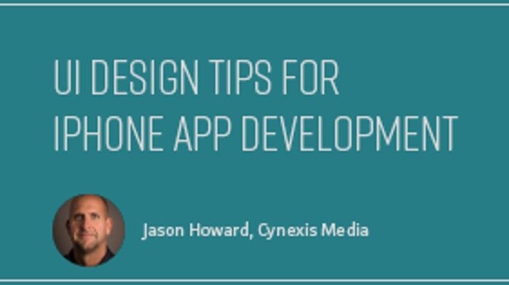 UI Design Tips for iPhone App Development