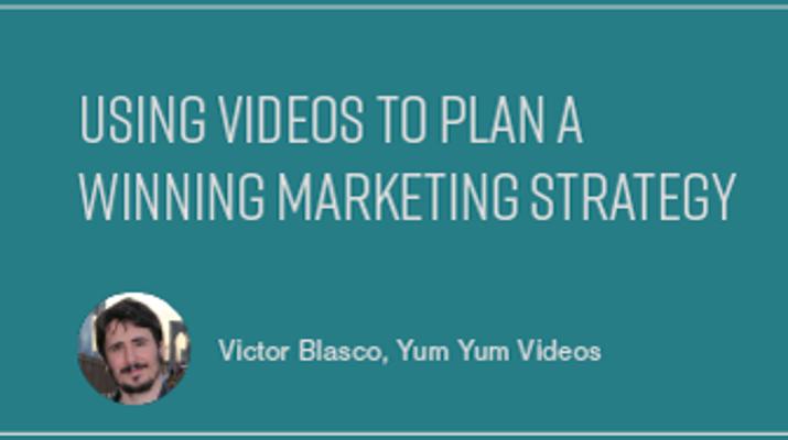 Using Videos to Plan a Winning Marketing Strategy