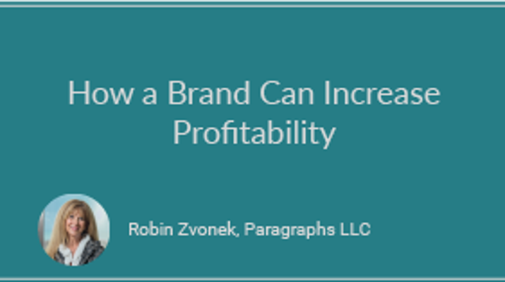 How a Brand Can Increase Profitability